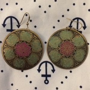Jewelry - Bohemian style metal earrings